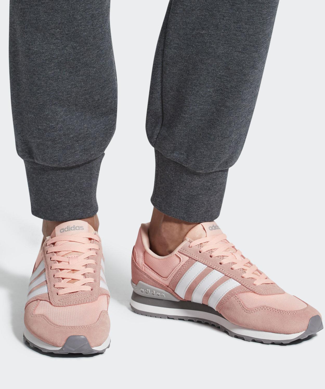 Adidas Scarpe Rosa Sportive  Rosa Scarpe 10K Donna 9bc94a
