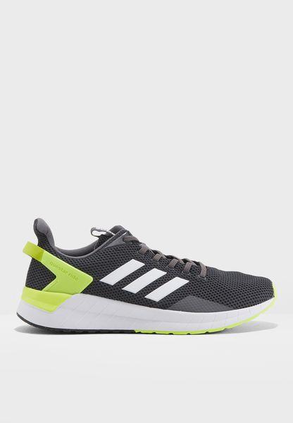 official photos 447f6 1a4a2 Adidas Scarpe Sneakers Trainers Running Ginnastica Tennis Questar ride Nero  5 5 di 9 ...