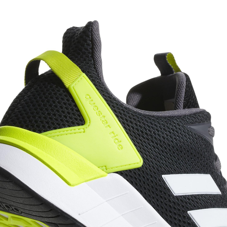 buy online e9d22 ac971 Adidas Scarpe Sneakers Trainers Running Ginnastica Tennis Questar ride Nero  7 7 di 9 ...