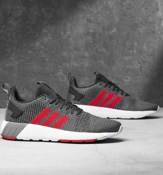 adidas scarpe, scarpe formatori stivali schuhe sport corsa questar