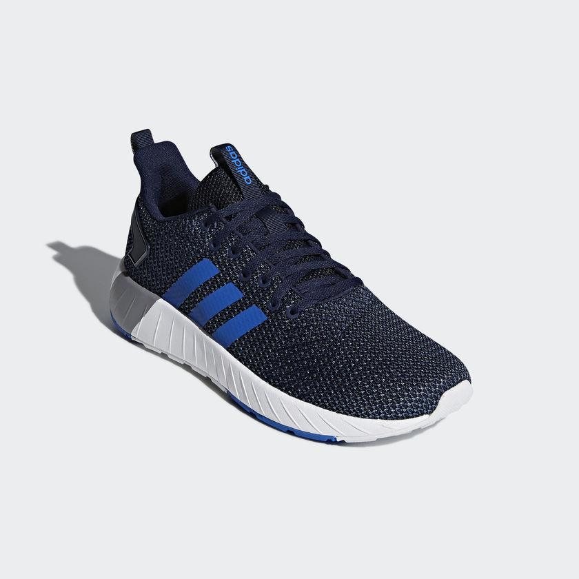 Adidas   Sneakers Trainers Sportive Sportive Sportive Ginnastica Tennis Runnig Blu | Simple D'utilisation  54f16c