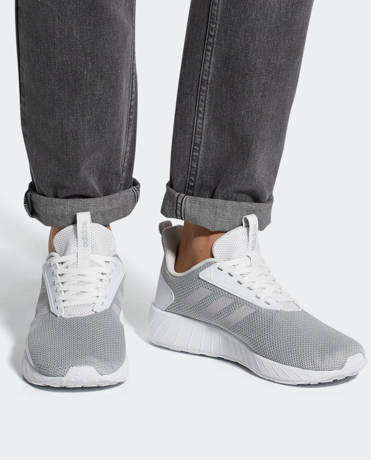 Adidas Sport Schuhe Trainers Running Shoe weiß Questar Drive Herren