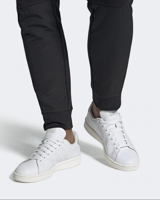 adidas Scarpe Uomo Sneakers Cloudfoam VS Court in Pelle