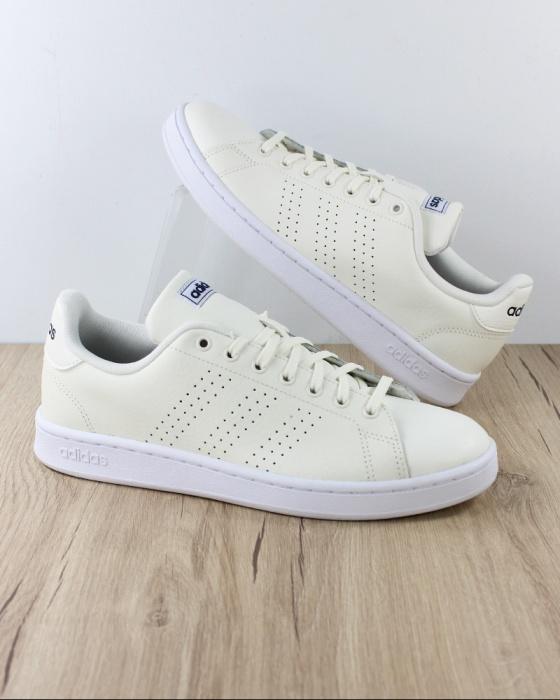Détails sur ADIDAS Baskets Chaussures Baskets schuhe Sport Neo Cloudfoam Avantage Hommes Blancs afficher le titre d'origine