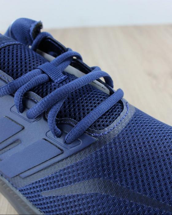 Dettagli su Adidas Scarpe Sportive Palestra Jogging Ginnastica Running Blu Nero Falcon