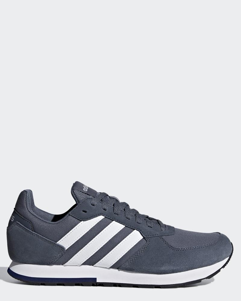 Sur Détails Lifestyle Sportif Sneakers Adidas Chaussures Gris 8k Sportswear nPwOk80