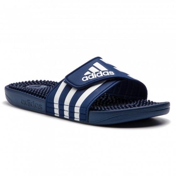 ... Ciabatte mare Piscina Palestra Doccia Adidas ADISSAGE Blu unisex -  Slippers sea Pool Gym Shower Adidas ... 8f45f863724