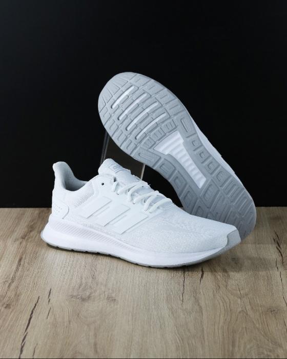 detailed look 3c086 795bc Scarpe Sneakers Running tennis ginnastica Trainers Adidas FALCON m  Originale Uomo 2019 Total Bianco - Sport ...