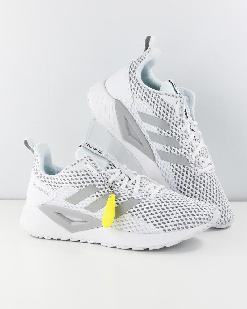 get cheap 11cfa 52db0 Adidas Climacool Questar Bianco Sportive Sneakers Scarpe Run