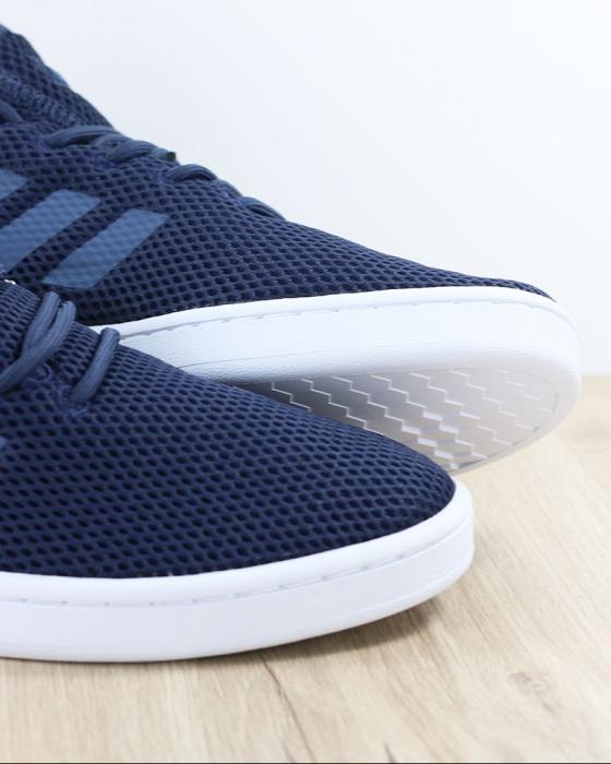 Adidas Sport Tennis Shoes Sneakers Court Adapt Navy Lifestyle sportswear |  eBay