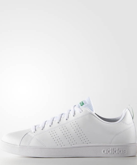 Scarpe Ginnastica Sneakers Originale Adidas Neo ADVANTAGE CLEAN stile stan smith Uomo Bianco Verde - Gymnastics ...