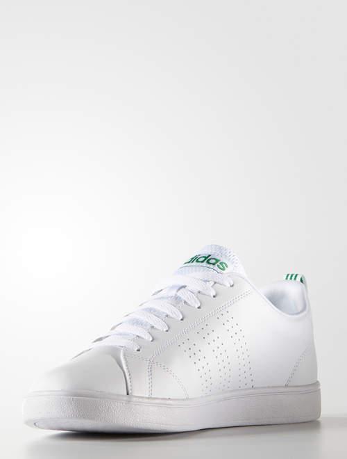 Adidas Scarpe Sportive Sneakers Neo Advantage Clean Bianco Verde