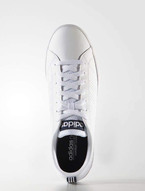 brand new 05f8d 81499 Adidas Scarpe Sportive Sneakers Advantage Clean Bianco blu 4 4 di 11 ...