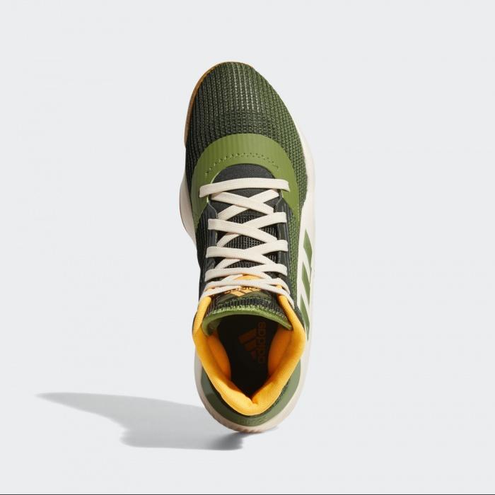 Dettagli su Adidas Scarpe Sportive Sneakers basket Verde Pro Bounce 2019 2019 Uomo