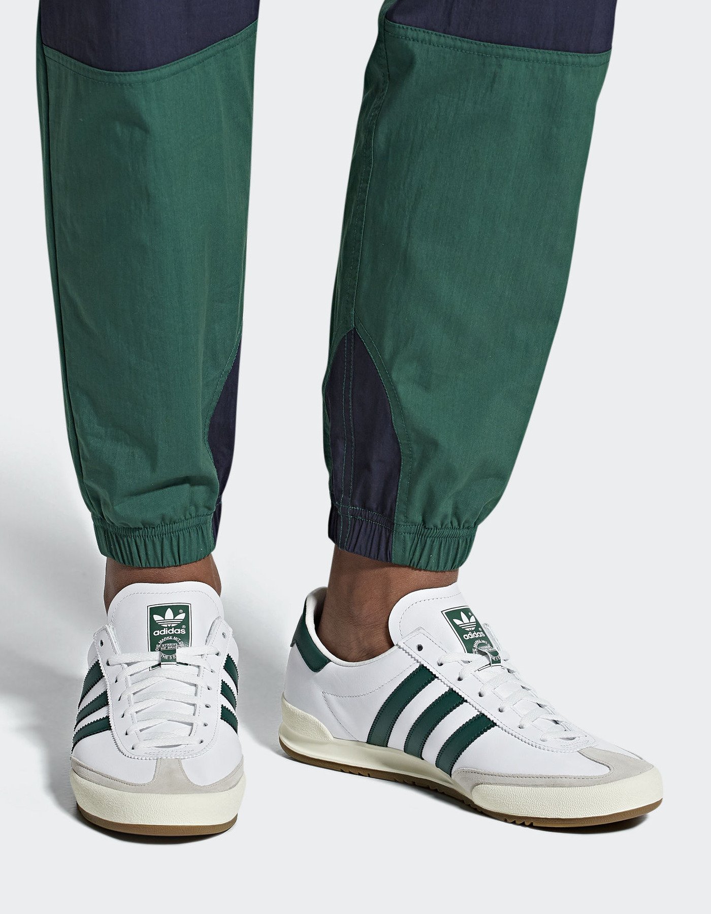 Adidas Originals Trefoil     Sneakers Trainers Sportive JEANS Bianco 2018 3a6113