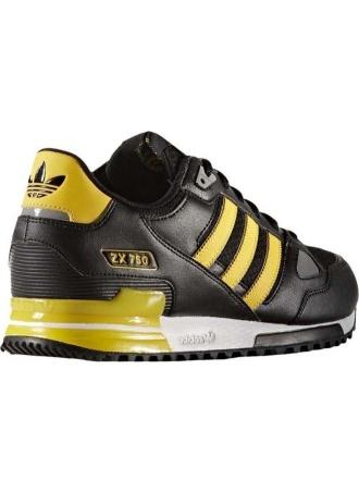 Scarpe Adidas ZX 750 Ginnastica Sneakers ORIGINALS Uomo ragazzo stagione 2016 Nero Gymnastics shoes Sneakers