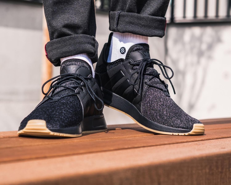 brand new 43c43 cfc40 Adidas Originals Trefoil Scarpe Sneakers Trainers Sportive Nero X PLR Uomo  201 4 4 di 12 ...