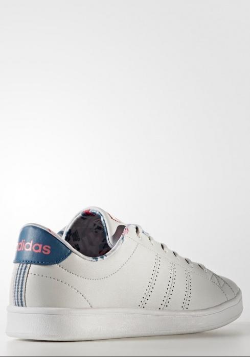 50a326e7b ... best price scarpe ginnastica sneakers originale adidas neo cloudfoam  advantage cl qt w donna bianco con