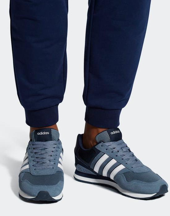 Adidas Sport Schuhe Trainers Boots Shoe 10K Herren 2018 Blue Wildleder, Mesh | eBay