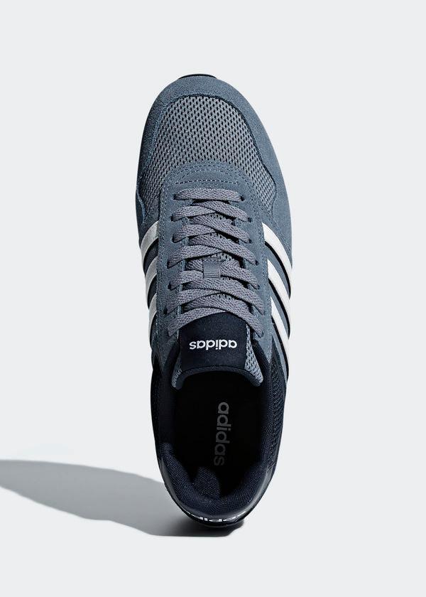 Adidas Sport Schuhe Herren Trainers Stiefel Schuhe 10K Herren Schuhe 2018 Blau Wildleder, Mesh 767159