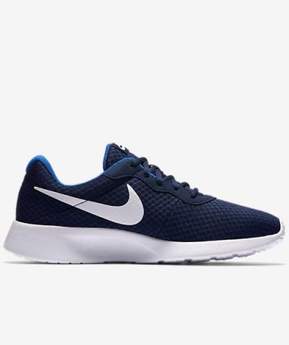 scarpe ginnastica sneakers originale nike tanjun roshe style uomo 2017 blu 414