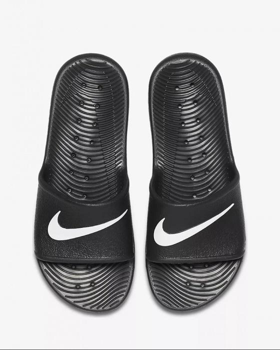 ca570db4eb2 ... Ciabatte sandali Nike Kawa shower Doccia mare Piscina Unisex Nero - Slippers  sandals Nike Kawa shower