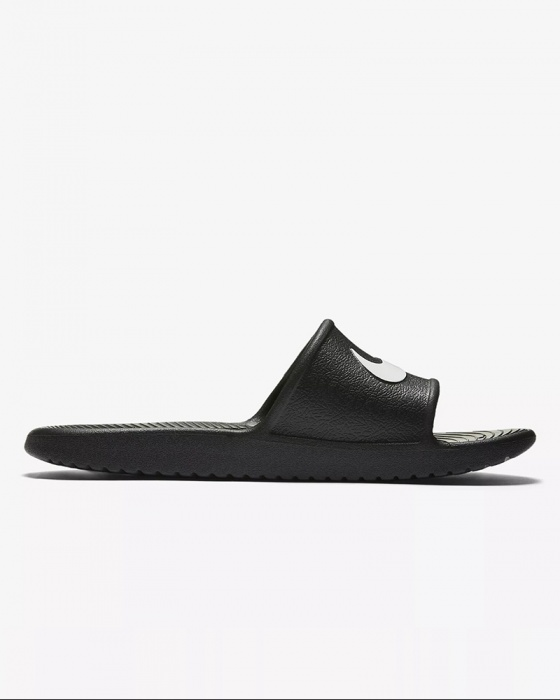 the latest 21449 e7dc7 ... Ciabatte sandali Nike Kawa shower Doccia mare Piscina Unisex Nero -  Slippers sandals Nike Kawa shower ...
