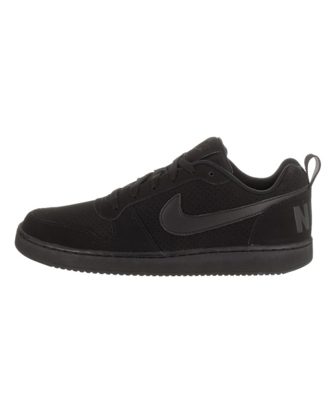 ... Scarpe da Ginnastica Sneakers Nike Court Borough Low Uomo Modello Air  Force Originale Nero - Sports 9c25e85ed70