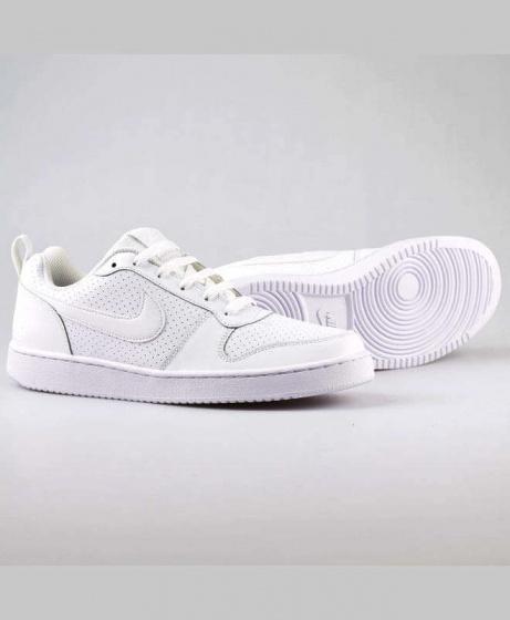 buy online 877f6 73552 Scarpe da Ginnastica Sneakers Originale Nike Court Borough Low Uomo Bianco  Modello Air Force - Sports ...