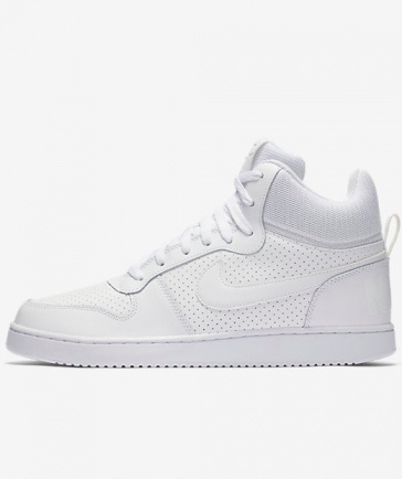... Scarpe sportive da Ginnastica Sneakers Nike Court Borough Mid Uomo Bianco  Air Force style Originale ... ae7a2f8a120