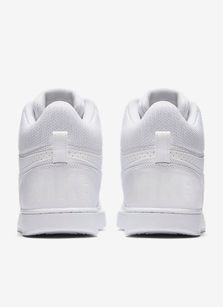 Nike Scarpe Sneakers Sportive Ginnastica Bianco Court Borough M Air force  style 79dead684c1