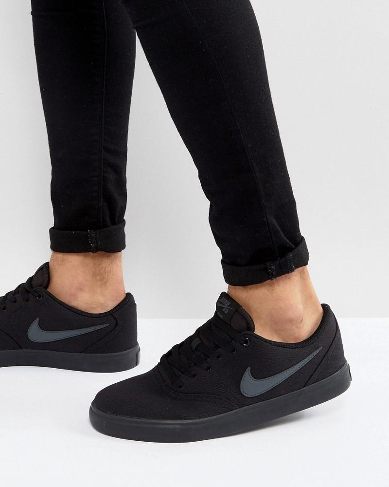 b418948b4d Nike Sport Schuhe Sneakers Shoe SB Check Solar Canvas Sportswear 6 6 sur 6  Voir Plus