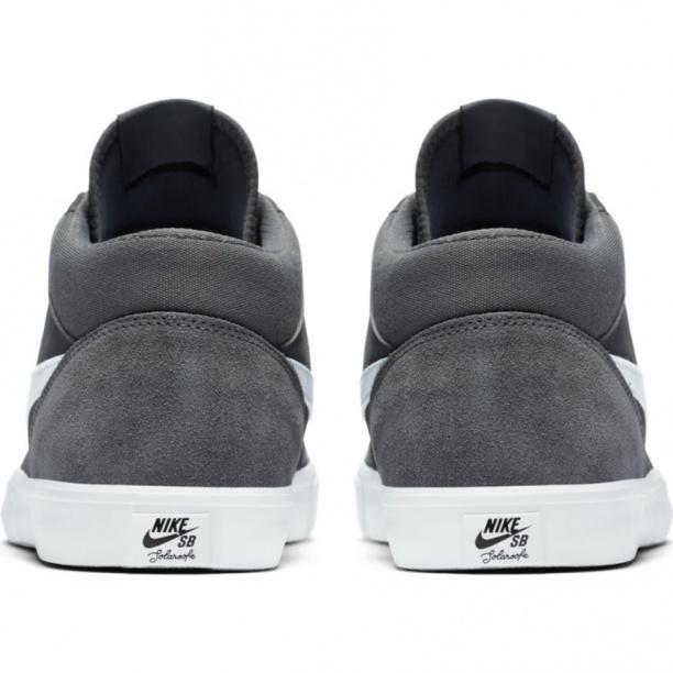 huge discount bf1f8 238c1 Scarpe da Ginnastica Sneakers Nike Solarsoft Portmore II Mid Skateboarding  uomo grigio caviglia alta - Sneakers ...