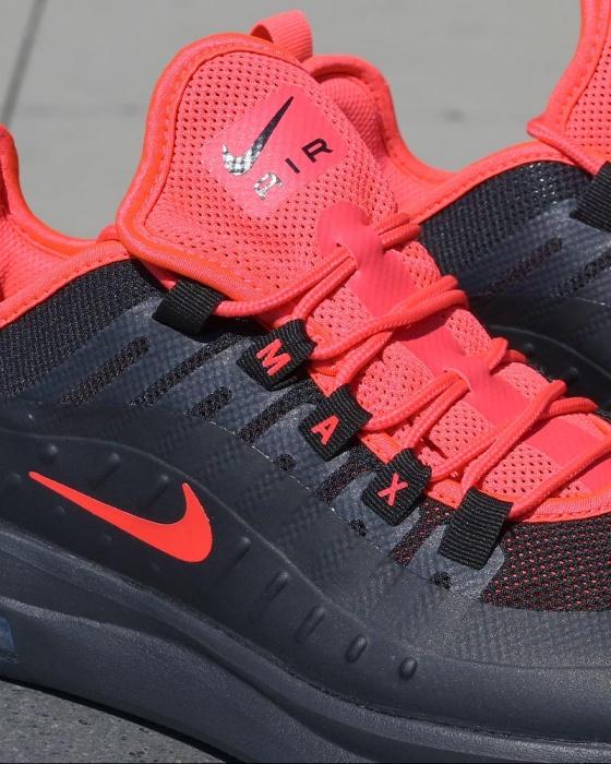 Détails sur Nike Chaussures sportif Sneakers Air Max AXIS Noir rouge