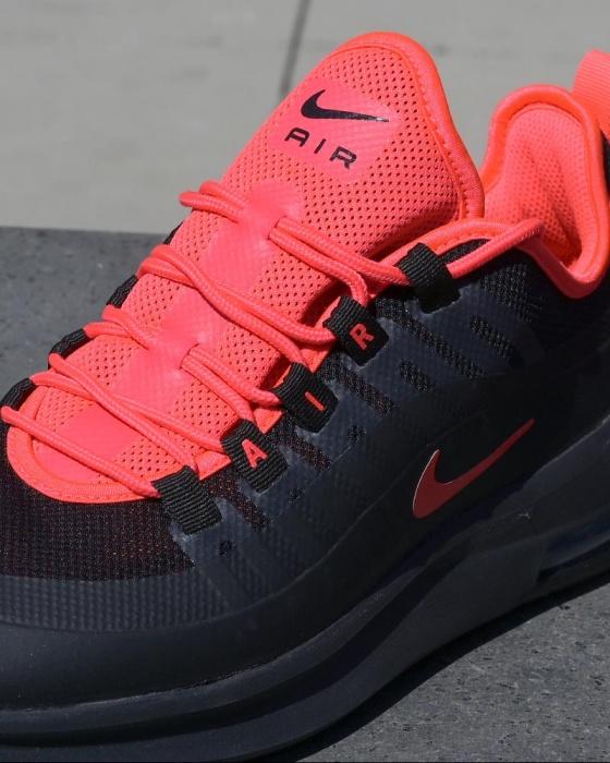 Dettagli su Nike Scarpe Sneakers Sportive Running Air Max AXIS Nero Rosso