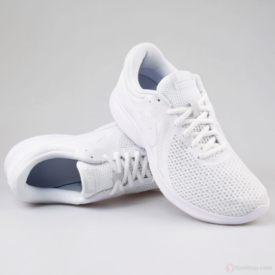 ... Scarpe Ginnastica Sneakers Running Nike Revolution 4 Uomo Bianco  Originale - Sport Gym Trainers Shoes Sneakers ... ea970018a83
