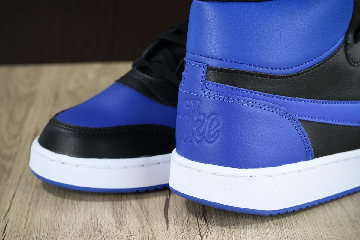 wholesale dealer 34447 5bc78 Nike-Sneakers-Shoes-Sport-EBERNON-MID-Black-Royal-
