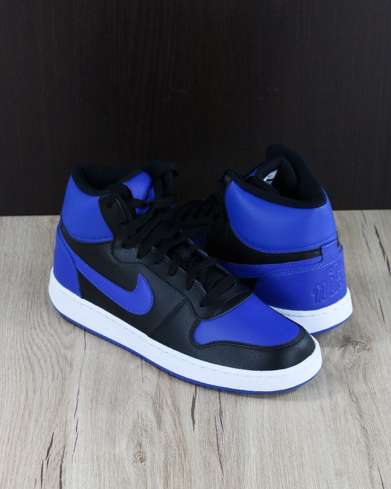 Lifestyle Schuhe Royal Sport Sneakers Ebernon Mid Zu Sportswear Nike Shoe Schwarz Details b6gyf7