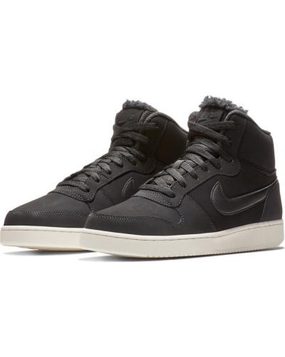 low priced ee1a1 2da03 ... Scarpe Sportive Sneakers Nike EBERNON MID SE lifestyle Sportswear  Caviglia alta Originale Uomo Nero - Sport ...