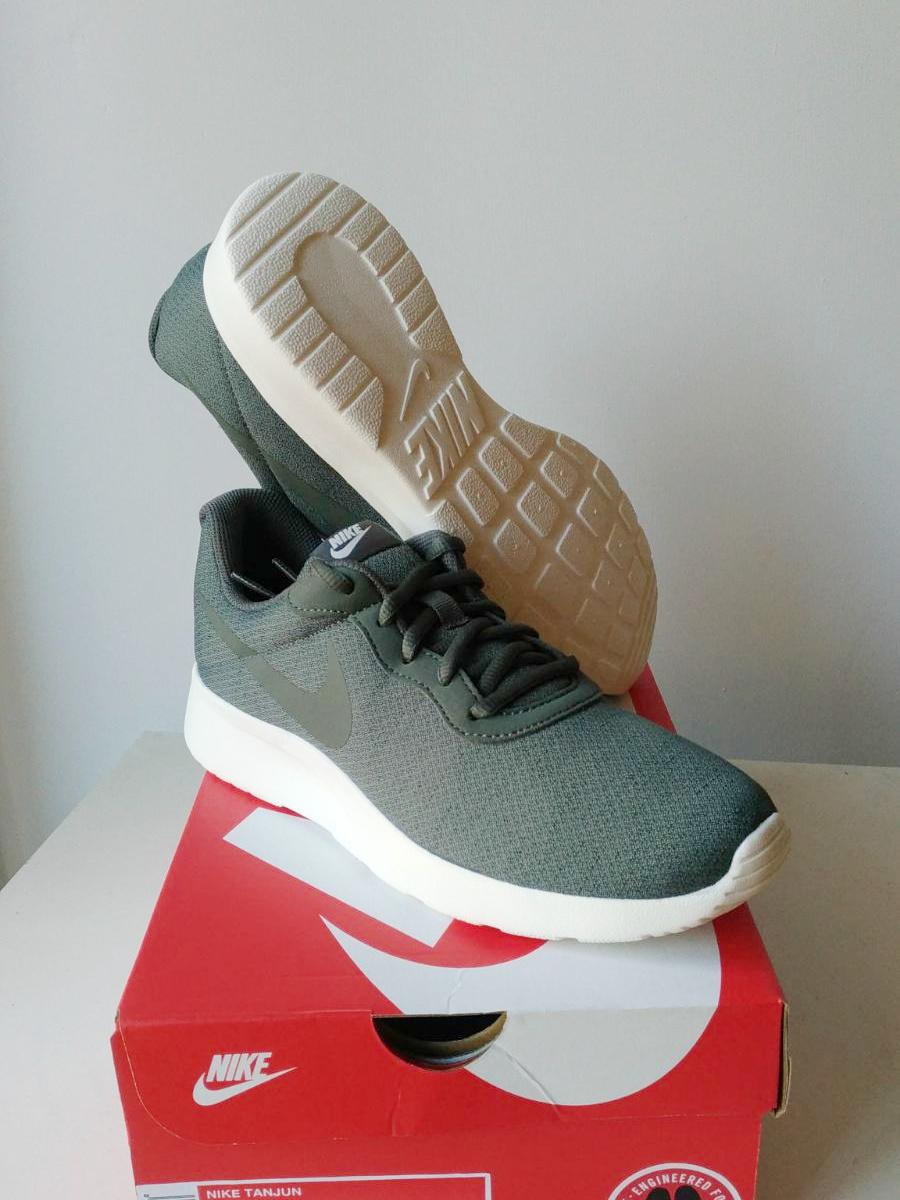 Nike Sneakers Shoes Trainers Boots Schuhe Sport Grey Green Tanjun ... b070146734