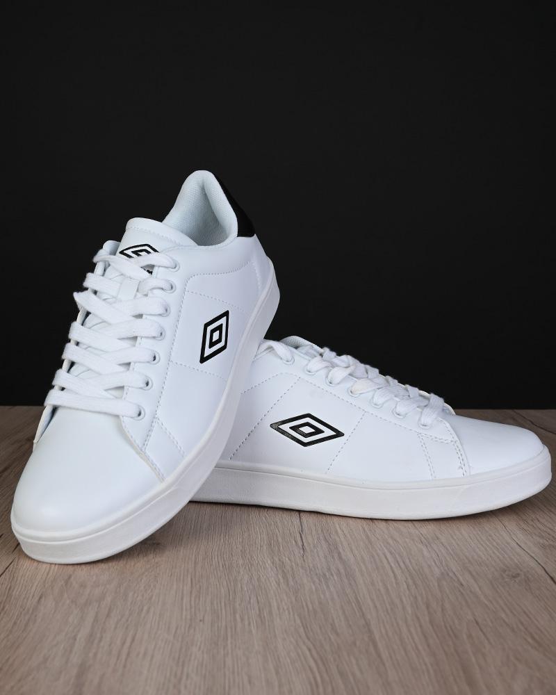 Umbro-Scarpe-Sportive-Sneakers-Lifestyle-Wimbledon-Bianco-sportswear-Uomo miniatura 6