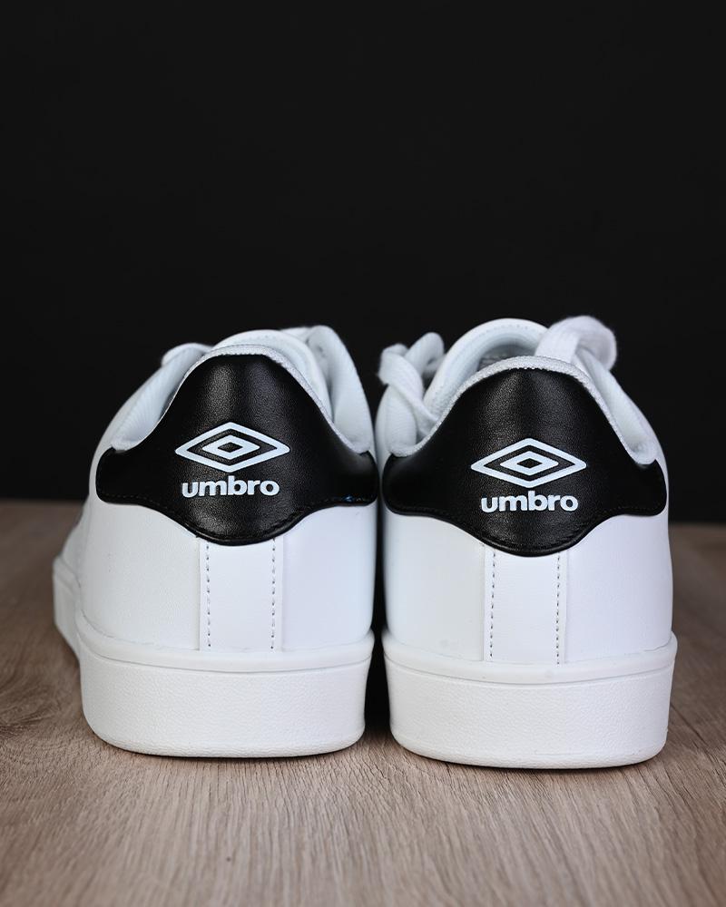 Umbro-Scarpe-Sportive-Sneakers-Lifestyle-Wimbledon-Bianco-sportswear-Uomo miniatura 3