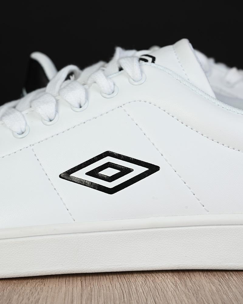 Umbro-Scarpe-Sportive-Sneakers-Lifestyle-Wimbledon-Bianco-sportswear-Uomo miniatura 9