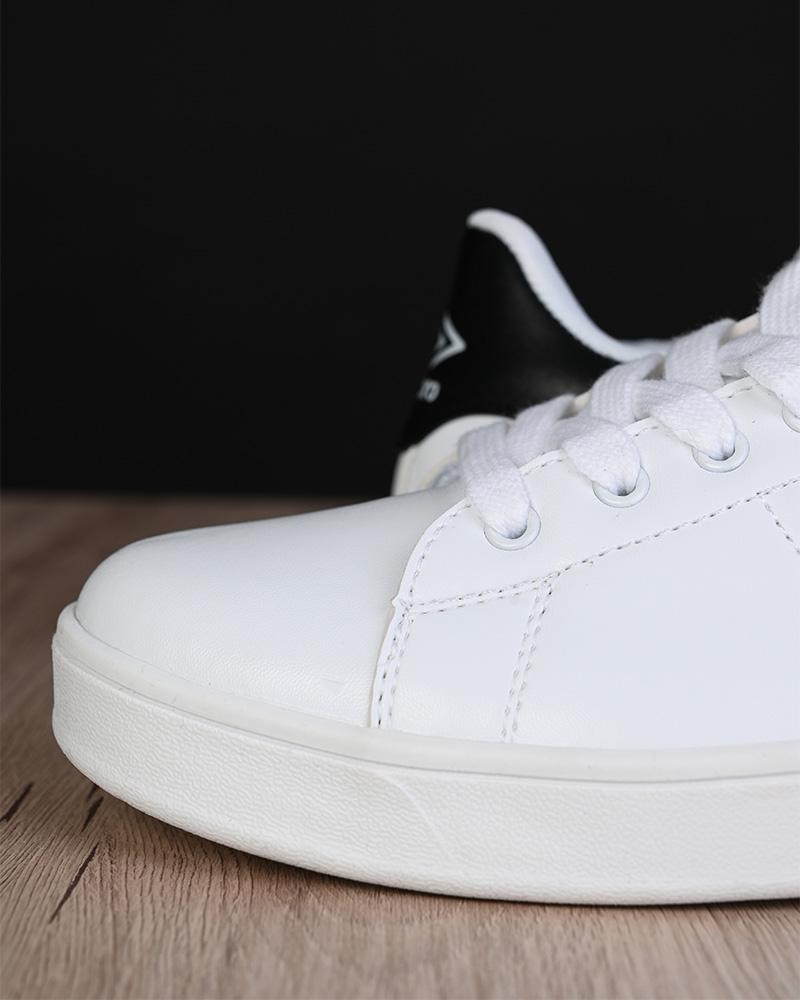 Umbro-Scarpe-Sportive-Sneakers-Lifestyle-Wimbledon-Bianco-sportswear-Uomo miniatura 4