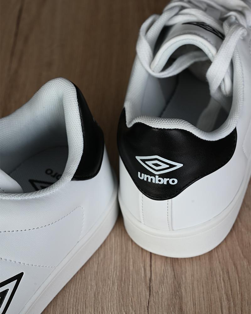 Umbro-Scarpe-Sportive-Sneakers-Lifestyle-Wimbledon-Bianco-sportswear-Uomo miniatura 5