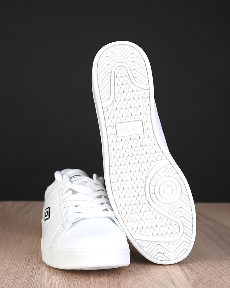 Umbro-Scarpe-Sportive-Sneakers-Lifestyle-Wimbledon-Bianco-sportswear-Uomo miniatura 7