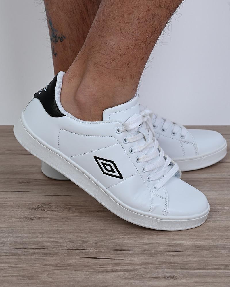 Umbro-Scarpe-Sportive-Sneakers-Lifestyle-Wimbledon-Bianco-sportswear-Uomo miniatura 8