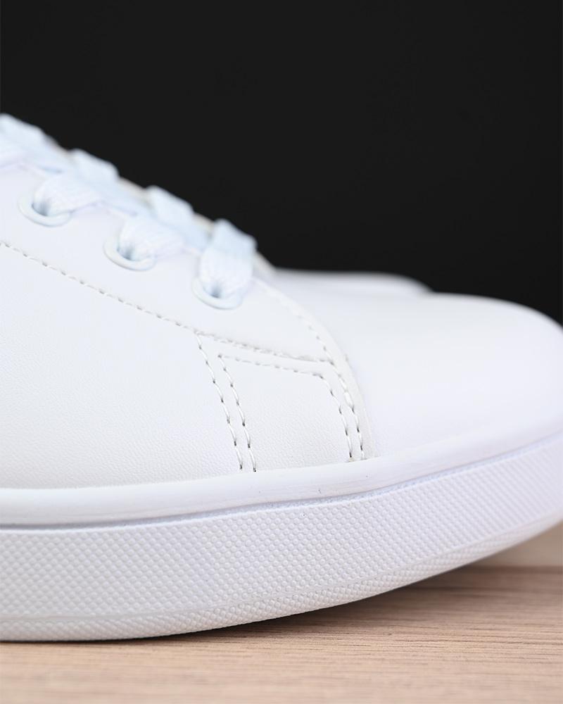 Umbro-Scarpe-Sportive-Sneakers-Bianco-Verde-Wimbledon-Sportswear miniatura 8