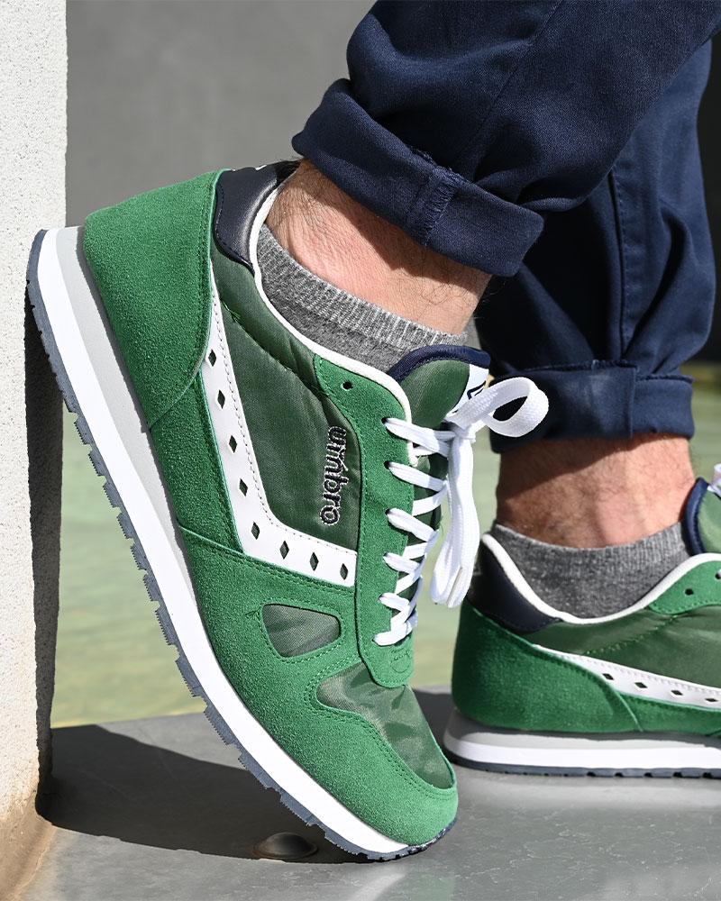 Umbro-Scarpe-Sportive-Sneakers-Footwear-Uomo-Verde-Flash-SD-lifestyle miniatura 9