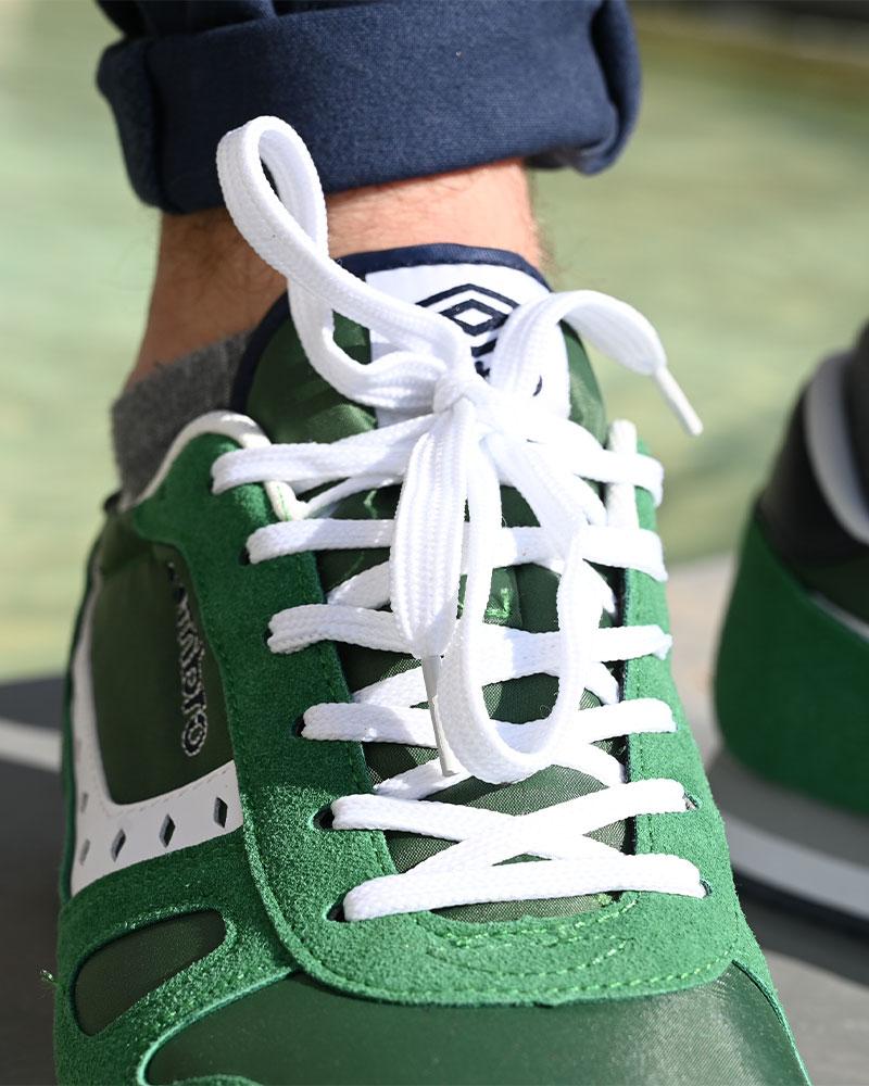 Umbro-Scarpe-Sportive-Sneakers-Footwear-Uomo-Verde-Flash-SD-lifestyle miniatura 6